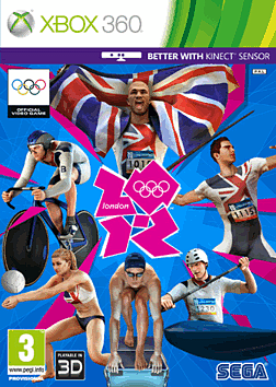 London 2012 The Official Video Game Xbox 360 Cover Art