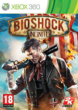 BioShock Infinite Xbox 360 Cover Art