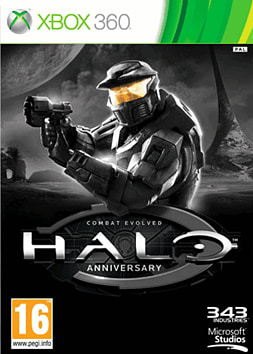 Halo: Combat Evolved Anniversary Xbox 360 Cover Art