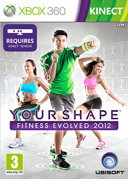 Your Shape Evolved Fitness 2 Xbox 360 Kinect Cover Art