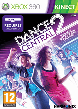 Dance Central 2 Xbox 360 Kinect Cover Art