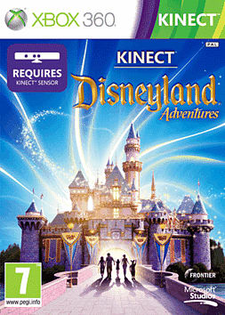Kinect Disneyland Adventure Xbox 360 Kinect Cover Art