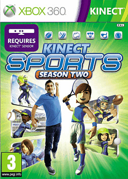 Kinect Sports Season 2 Xbox 360 Kinect Cover Art