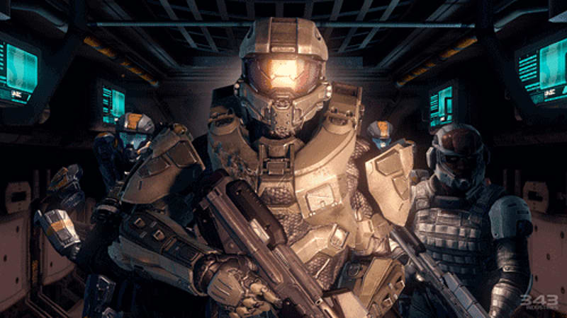 master Chief returns in Halo 4 on Xbox 360 at GAME