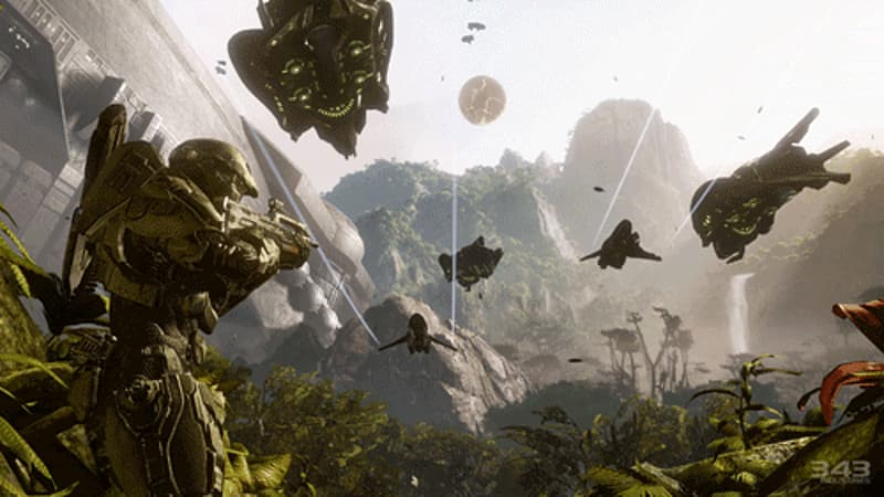 Master Chief returns in Halo 4 at GAME