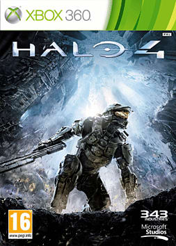 Halo 4 Xbox 360 Cover Art