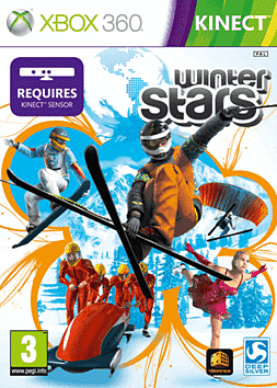 Winter Stars Xbox 360 Kinect Cover Art