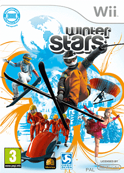 Winter Stars Wii Cover Art
