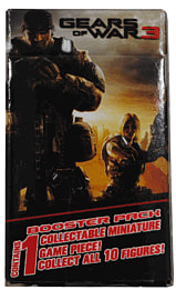 Gears of War 3 Collectable Miniature Booster Pack Toys and Gadgets