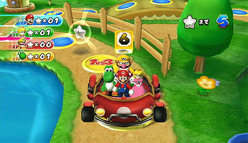 Different games, different boards in Mario Party 9 on Wii at GAME