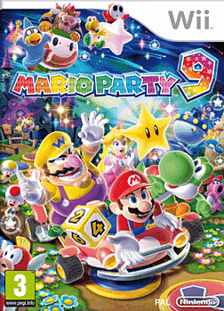 Mario Party 9 Wii Cover Art