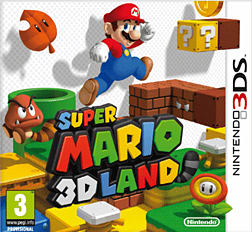 Super Mario 3D Land 3DS Cover Art