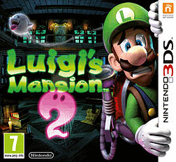 Luigi's Mansion 2: Dark Moon 3DS Cover Art