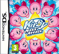 Kirby Mass Attack DSi and DS Lite