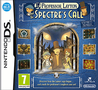 Professor Layton and The Spectre's Call on Nintendo DS