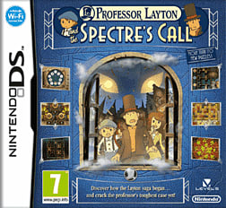 Professor Layton and the Spectre's Call DSi and DS Lite Cover Art