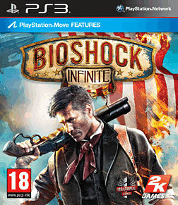 BioShock Infinite PlayStation 3 Cover Art