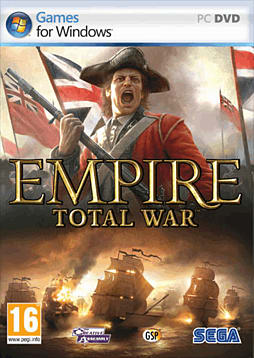 Empire Total War PC Games Cover Art
