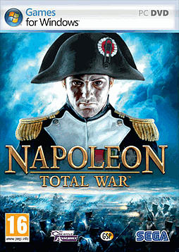 Napoleon Total War PC Games Cover Art