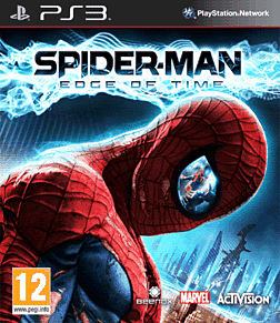 Spiderman: Edge of Time PlayStation 3 Cover Art