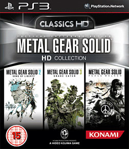 Metal Gear Solid HD Collection PlayStation 3 Cover Art