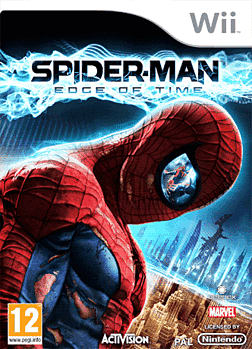 Spiderman: Edge of Time Wii Cover Art