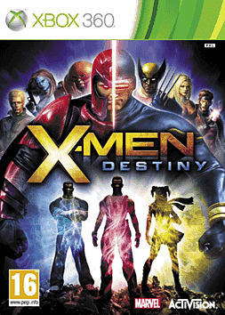 X Men: Destiny Xbox 360 Cover Art