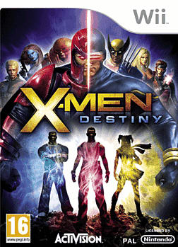 X Men: Destiny Wii Cover Art