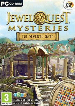 Jewel Quest Mysteries 3: The Seventh Gate PC Games Cover Art