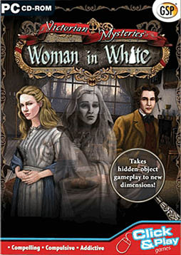 Victorian Mysteries: Woman in White PC Games Cover Art