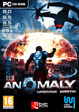 Anomaly: Warzone Earth PC Games Cover Art