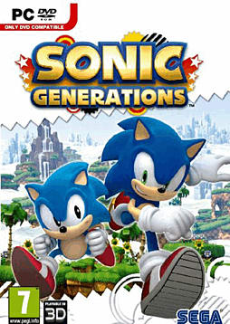 Sonic Generations PC Games Cover Art