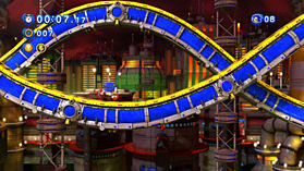 Sonic Generations screen shot 3