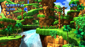 Sonic Generations screen shot 5