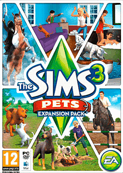 The Sims 3 Pets PC Games Cover Art