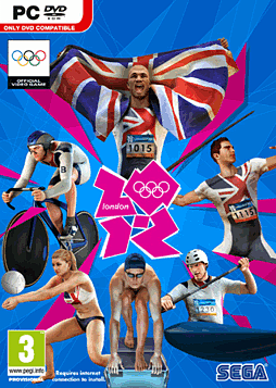 London 2012 The Official Video Game PC Games Cover Art