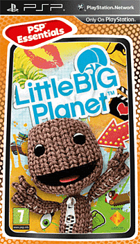 Little Big Planet Essentials PSP Cover Art