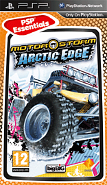 Motorstorm Arctic Edge (PSP Essentials) PSP Cover Art