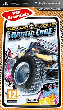 Motorstorm Arctic Edge (PSP Essentials) PSP Cover Art