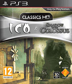 Ico & Shadow of Colossus Classics HD PlayStation 3 Cover Art