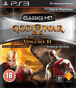 God of War Collection Volume 2 PlayStation 3 Cover Art