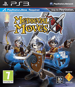 Medieval Moves PlayStation 3 Cover Art