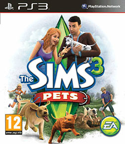The Sims 3: Pets Playstation 3 Cover Art