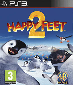 Happy Feet 2 PlayStation 3 Cover Art