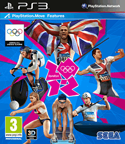 London 2012 The Official Video Game PlayStation 3 Cover Art