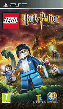 Lego Harry Potter Years 5-7 PSP Cover Art
