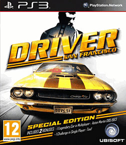 Driver San Francisco Special Edition PlayStation 3 Cover Art