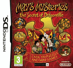Mays Mysteries: The Secret of Dragonville DSi and DS Lite Cover Art