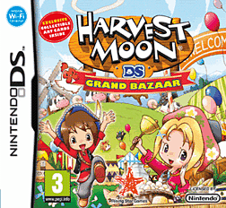 Harvest Moon Grand Bazaar DSi and DS Lite Cover Art