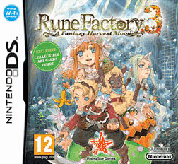 Rune Factory 3 DSi and DS Lite Cover Art